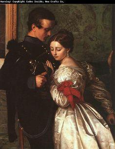 The Lovers.  John Everett Millais.