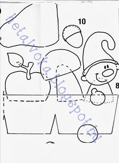 Őszi barkács - Klára Balassáné - Picasa Webalbumok Felt Crafts, Diy And Crafts, Crafts For Kids, Arts And Crafts, Paper Crafts, Autumn Activities, Paper Design, Fall Halloween, Baby Quilts