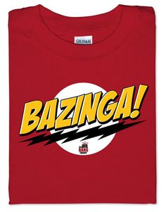 ThinkGeek :: Bazinga!