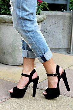 simplicity // steve madden heels