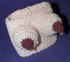 Extra Naughty Boobie Cozy Available for travel cups by SashmoCo, $11.00