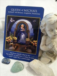 """22 Jan – The AA Michael is standing by your side, reminding you that it is time to take back your power. Don't """"lose"""" yourself in a relationship, whether romantic or work-related. Stand in your power. You can move mountains. (Archangel Power Tarot, #DoreenVirtue & #RadleighValentine) #dailycard #dailytarot #dailymessages #dailyguidance #dailyoracle #tarot #tarotcommunity #spirituality #metaphysical #divination #angelreading #angels #archangels #archangelpowertarotcards"""