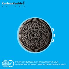 Morning, afternoon, evening or night… Oreos are always a yummy delight #Friday #CuriousCookie