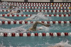 Katie Ledecky and Jack Conger win at local swim invite.