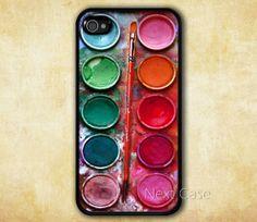 Water color paint set iPhone 4 CaseFriendship iPhone door NextCase, $6.99