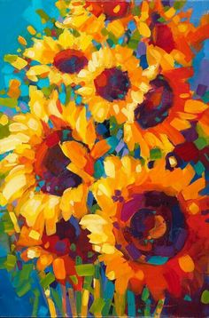 Image result for simon bull sunflowers