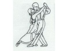 Tango Dancers, Color Lines, Fashion Sewing, Machine Embroidery Designs, Detail, How To Make, Cards, Diy, Ideas