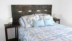 Woven Wood Headboard