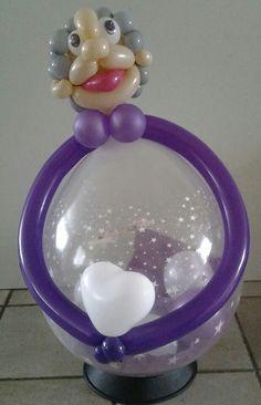Kado in ballon sarah