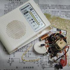 NEUE AM / FM Radio Kit PCB Kabel Empfänger Teile CF210SP für Ham Elektronische DIY Montieren Kit Fm Antenna Diy, Radios, Amplitude Modulation, Radio Kit, Diy Electronics, Diy Kits, Products, Cords
