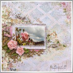 Scrap Made in Touraine: Rose - Blue Fern Studios DT