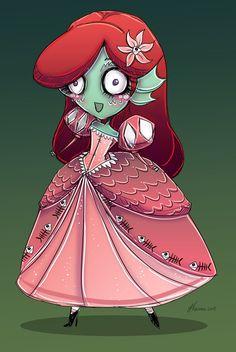 Little Mermaid from The Black Lagoon by NoFlutter.deviantart.com on @deviantART