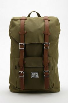 Herschel Supply Co. Little America Mid-Volume Backpack Online Only Urban Outfitters, Backpack Bags, Fashion Backpack, Backpack Online, Travel Backpack, Fashion Tag, Mens Fashion, Hiking Fashion, Comme Des Garcons