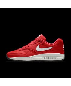 f64259c52d Nike Air Max 1 Essential Id Red White Mens Shoes Outlet