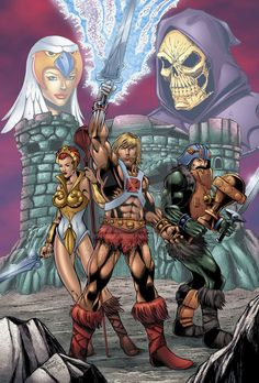Masters of the Universe Colors by seanforney.deviantart.com on @deviantART