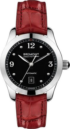 @bremontwatchcom Solo 32 AJ Black Ladies #add-content #basel-17 #bezel-fixed #bracelet-strap-crocodile #case-depth-9-65mm #case-material-steel #case-width-32mm #cosc-yes #date-yes #delivery-timescale-call-us #dial-colour-black #gender-ladies #limited-code