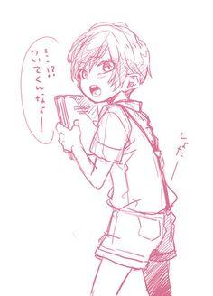 Mochita Oh, really cute. Cartoon Illustration, Sketches, Anime Drawings Boy, Anime Drawings Sketches, Drawings, Anime Sketch, Anime Artwork, Cute Drawings, Kawaii Art