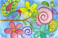 Artsy VaVa: Whimsical Watercolors