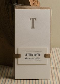 Letterpress Cards and Prints by Almanac Industries via Oh So Beautiful Paper (1)