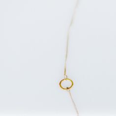 necklace | silver | gold