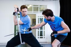 Tom is pretty hot when wielding a sword. | 29 Reasons We Fell In Love With Tom Hiddleston In 2013