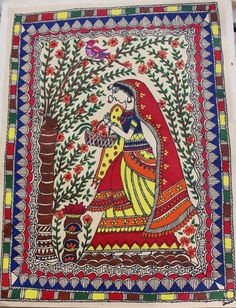 Life's little treasures: Madhubani painting