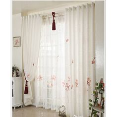 Best Shower Curtain - If you have a bath or shower screen bathroom without the best (and cheapest) is put a shower curtain. Pink Shower Curtains, White Sheer Curtains, Pink Showers, Small Showers, Shabby Chic Curtains, Kids Curtains, Colorful Wallpaper, Cool Rooms, Girls Bedroom