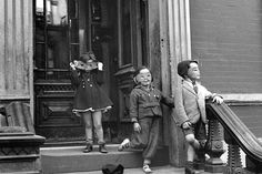 Helen Levitt (1913-2009). This is among my favorites of her photographs.