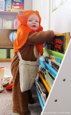 Easy DIY Ewok Costume for a Baby or Toddler