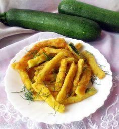 Di gotuje: Serowe frytki z cukinii