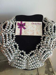 necklace silver. padrisimo para lucir de noche