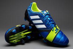 cheaper fc2c4 b310d adidas Nitrocharge 1.0 TRX FG - BlueWhiteElectricity UK 8.5 pdsmostwanted  New