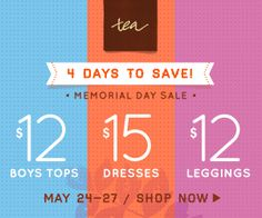 RUN to Tea Collection right now! They are having a KILLER sale! Details in the post! EEEEE!!!
