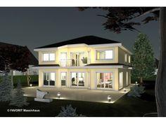 Favorit - Citylife 200 - #Einfamilienhaus von Bau Braune Inh. Sven Lehner   HausXXL #Stadtvilla #modern #Walmdach