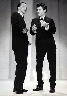 Frank Sinatra and Elvis..