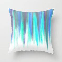 Paint Stroke A Throw Pillow by Snehal Jain - $20.00