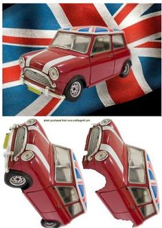 Mini Car with Jack on Craftsuprint designed by Nick Bowley - Mini Car with Jack, just cut out and layer the pieces , makes a great card, thankyou for looking - Now available for download!