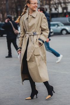 Paris! All The Best Fashion Week Street Style
