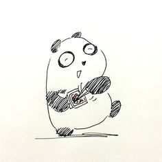 【一日一大熊猫】2016.1.14 菌でも体に必要な菌があるね。 ヨーグルトとか代表的だけど、 日本人には納豆や味噌から取れる菌が とても良いとか。 #パンダ #納豆 #味噌