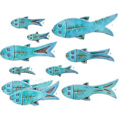 Ceramic fish art Fish wall art Fish wall hangings Ceramic art Fish... (€30) ❤ liked on Polyvore featuring home, home decor, ceramic home decor, fish home decor, turquoise home accessories and turquoise home decor