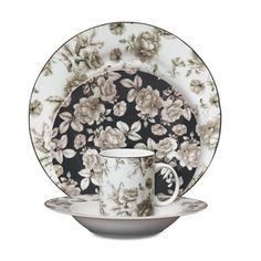 Madison Bloom Dinnerware 16Pc, $48, now featured on Fab.