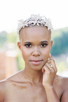 Black People Weddings, Wedding Beauty, Bridal Beauty, Wedding Hair, European Wedding, Bridal Hair And Makeup, Bride Look, Bride Hairstyles, Designer Wedding Dresses