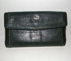 Vintage Dooney and Burke checkbook wallet with by FeliceSereno, $18.00