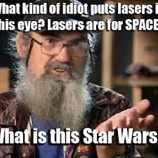 What is this Star Wars?! Uncle Si
