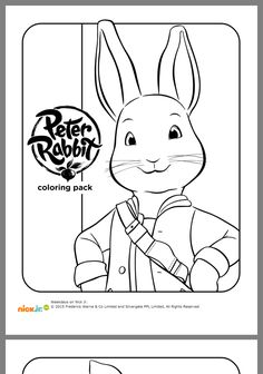 benjamin bunny coloring pages - photo#22