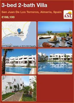 3-bed 2-bath Villa in San Juan De Los Terreros, Almeria, Spain ►€188,100 #PropertyForSaleInSpain
