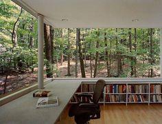 Beautiful library / study