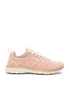 Athletic Propulsion Labs: APL TechLoom Phantom Sneaker in Blush & Cream