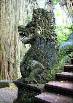 Indonesian Sculpture - MONKEY FOREST - BALI