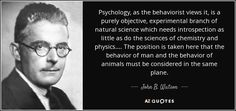 John Watson on Behavior. American Psychologist, Founder of Behaviorism in the United States. Ideas and brief biography of John Watson, American psychologist who championed objective psychology in his behaviorism. American psychologist...